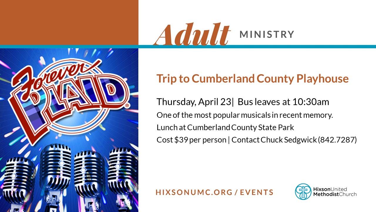 WS - Older Adult Trip (April 23)