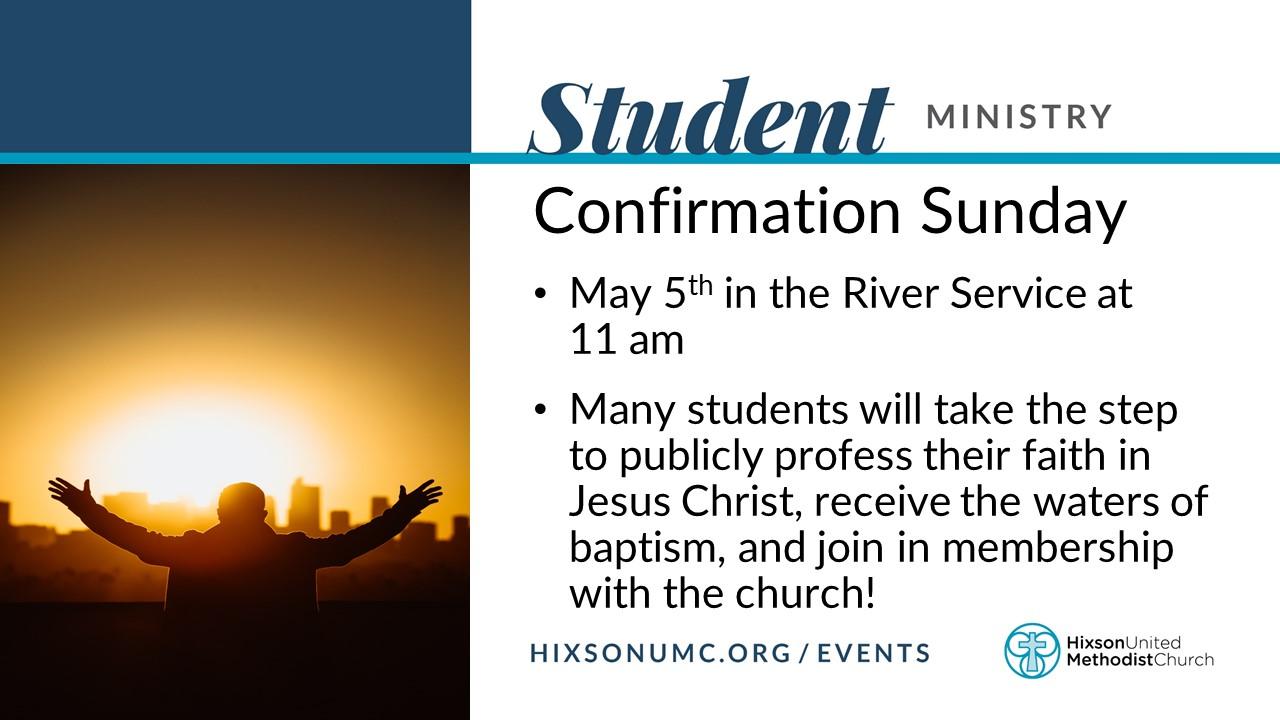 Confirmation Sunday Slide