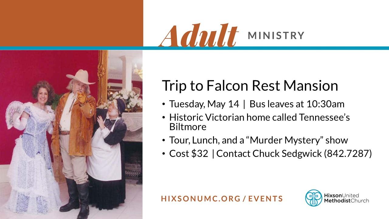 WS - Older Adult Trip (May 14)